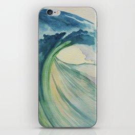 Incoming Energy Wave iPhone Skin