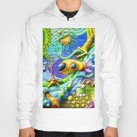 underwater Hoodies featuring Underwater by andyk77