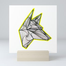 Zentangle Doberman Dog Mini Art Print