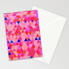 Triangle ornament Stationery Cards
