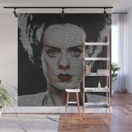 The Bride of Frankenstein Screenplay Print Wall Mural