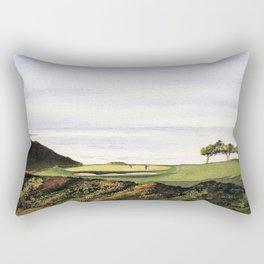 Torrey Pines South Golf Course Hole 3 Rectangular Pillow