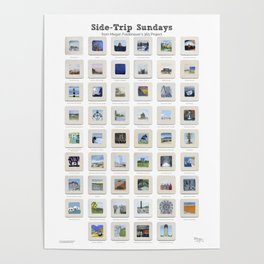 Side Trip Sundays: 52 Weeks of Landscape Watercolor Paintings Poster