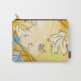 Soft Ochre October Carry-All Pouch