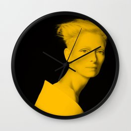 Tilda Swinton Wall Clock