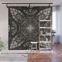 Branching Symmetry Wall Mural