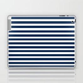 Navy-White ( Stripe Collection ) Laptop & iPad Skin
