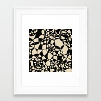 mosaic Framed Art Prints featuring Mosaic by Glanoramay