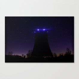 Nuclear Cooling Tower Canvas Print