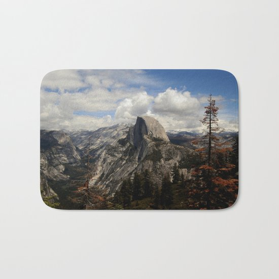 up in the mountains Bath Mat