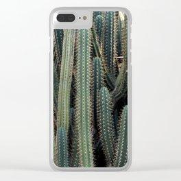 Desert Cacti / Cactus Clear iPhone Case