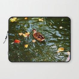 Duck in autumn Laptop Sleeve