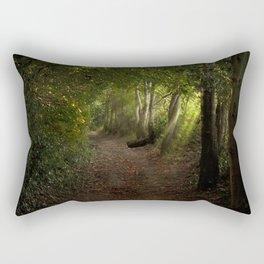 The walk to Flimwell Rectangular Pillow