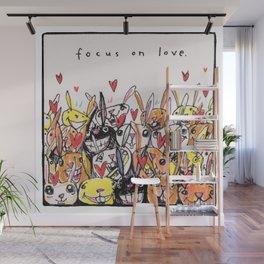 Focus on Love Wall Mural