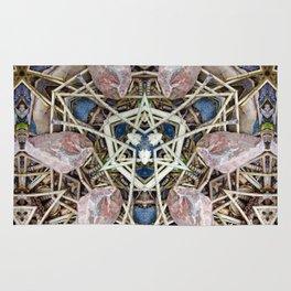 A Natural Mosaic Rug