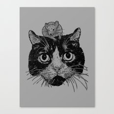 Unusual Friendship  Canvas Print