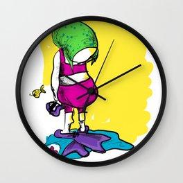 I miss my sea Wall Clock