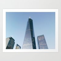 [№25] New York Nights Art Print