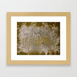 Green Mangroves 1  Framed Art Print