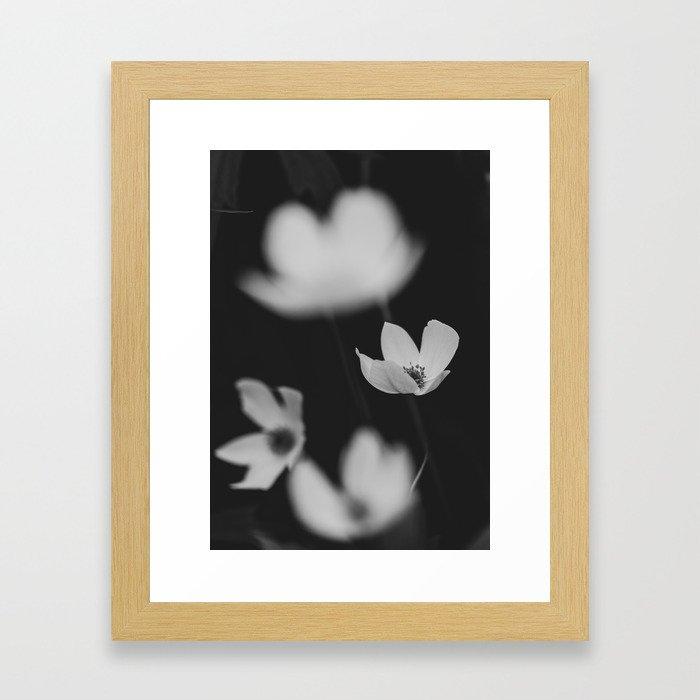 delicate Framed Art Print