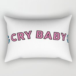 cry baby Rectangular Pillow