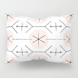 Pink Mid Century Dots Pillow Sham