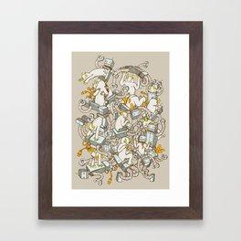 Inner Demons Framed Art Print
