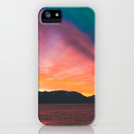 Sunrise on Fire iPhone Case