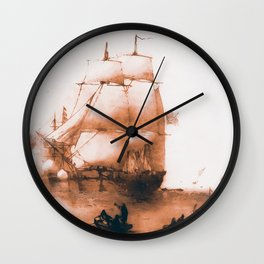 HMS Resolute Wall Clock