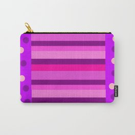 Mad Purple and Pink Carry-All Pouch