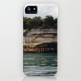 Pictured Rocks I iPhone Case