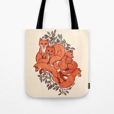 Fox Tangle Tote Bag