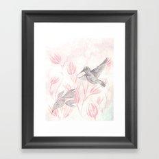 Delicate Symphony Framed Art Print