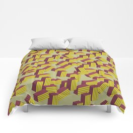 3D Lovely Pattern X 1 Comforters