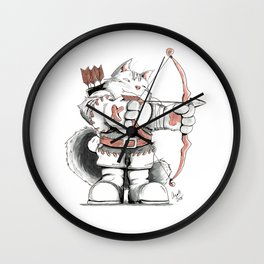 Archer Mainecoon Cat Wall Clock