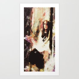 Eastbound Art Print