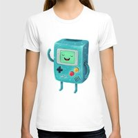 game T-shirts featuring Game Beemo by Lime