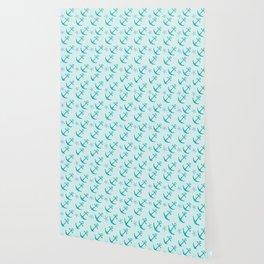 AFE Mint Anchors Wallpaper