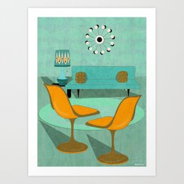 Room For Conversation Art Print