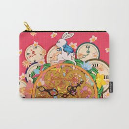 Running with time Carry-All Pouch