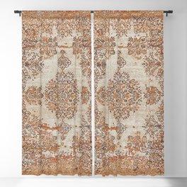 Oriental Vintage Carpet Design Blackout Curtain