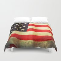 america Duvet Covers featuring America by ThePhotoGuyDarren