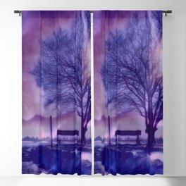 Winter Impression B Blackout Curtain