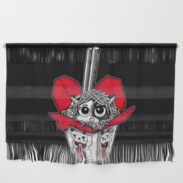 Lucky Cat Noodle Box Wall Hanging