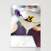 martini Stationery Cards featuring Martini by kbattlephotography