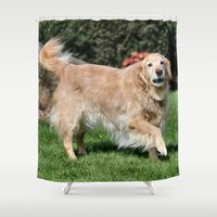 happiness Shower Curtains featuring Happiness by IowaShots