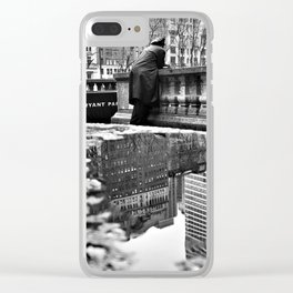 New York City Reflections Clear iPhone Case