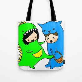Rawr Learns to protect herself Tote Bag