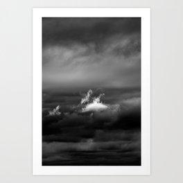 Gloomy Sky 0010 Art Print