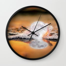 The Rare Pearl Moon Wall Clock
